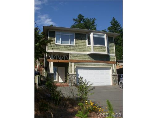 Main Photo: A 1224 Goldstream Avenue in VICTORIA: La Langford Lake Strata Duplex Unit for sale (Langford)  : MLS® # 308004