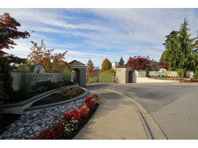 Main Photo: # 54 4001 OLD CLAYBURN RD in Abbotsford: Abbotsford East Townhouse for sale : MLS® # F1448958