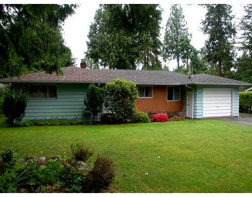 Main Photo: 1079 HANDSWORTH RD in North Vancouver: Canyon Heights NV House for sale : MLS®# V538909