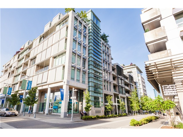 Main Photo: # 508 77 WALTER HARDWICK AV in Vancouver: False Creek Condo for sale (Vancouver West)  : MLS® # V1064007