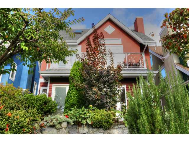 Main Photo: 2045 E 5th Avenue in Vanouver: Grandview VE House 1/2 Duplex for sale (Vancouver East)  : MLS(r) # v1089718