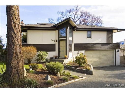 Main Photo: 4101 Mariposa Heights in VICTORIA: SW Strawberry Vale Single Family Detached for sale (Saanich West)  : MLS® # 288560