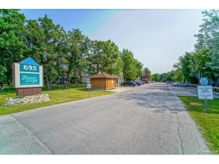Main Photo: 693 St Anne's Road in WINNIPEG: St Vital Condominium for sale (South East Winnipeg)  : MLS®# 1419765