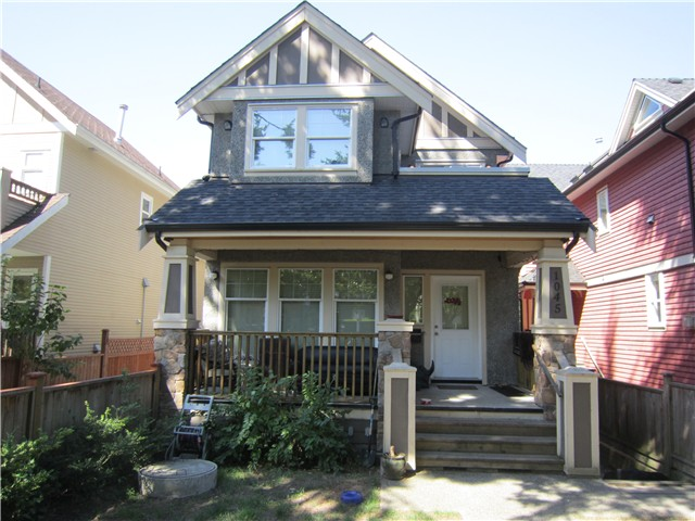 Main Photo: 1045 E 10TH Avenue in Vancouver: Mount Pleasant VE House 1/2 Duplex for sale (Vancouver East)  : MLS(r) # V966703
