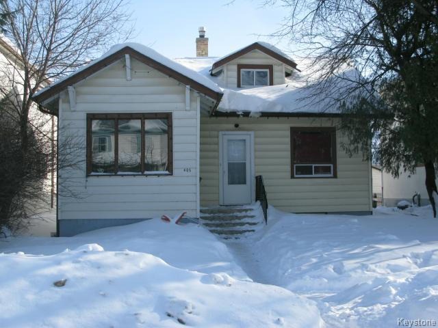 Main Photo: 405 Andrews Street in WINNIPEG: North End Single Family Detached for sale (North West Winnipeg)  : MLS® # 1402985