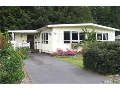 Main Photo: 39 2587 Selwyn Road in VICTORIA: La Mill Hill Manu Double-Wide for sale (Langford)  : MLS®# 188552