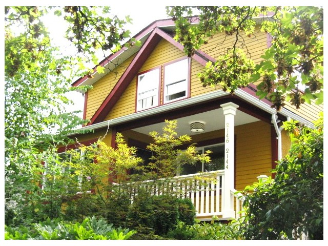 Main Photo: 2144 - 2146 VENABLES ST in Vancouver: Grandview VE House for sale (Vancouver East)  : MLS® # V1084107