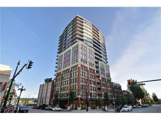 Main Photo: # 1610 14 BEGBIE ST in New Westminster: Quay Condo for sale : MLS®# V1066139