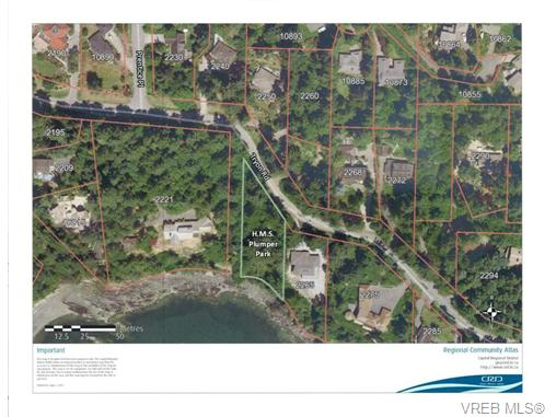 Photo 2: 2260 Tryon Road in NORTH SAANICH: NS Curteis Point Land for sale (North Saanich)  : MLS(r) # 339795