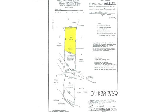 Photo 3: 2260 Tryon Road in NORTH SAANICH: NS Curteis Point Land for sale (North Saanich)  : MLS(r) # 339795