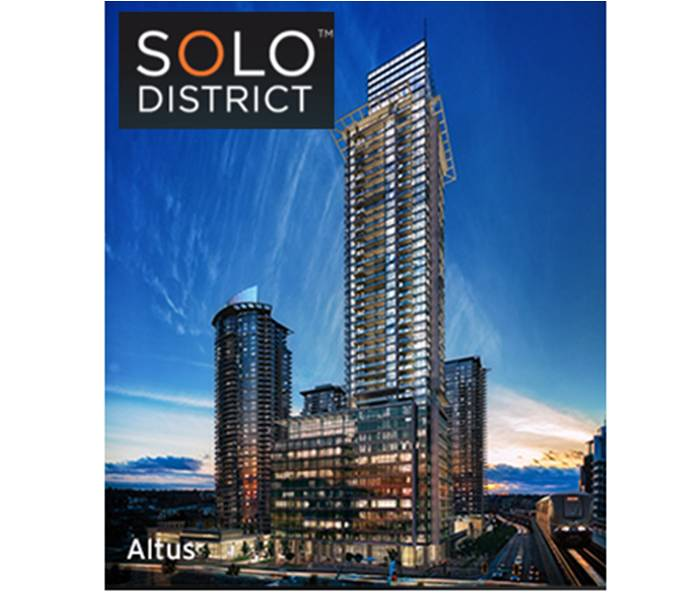 Main Photo: #3406 at SOLO DISTRICT by APPIA DEVELOPMENT in : Brentwood Park Condo  (Burnaby North)