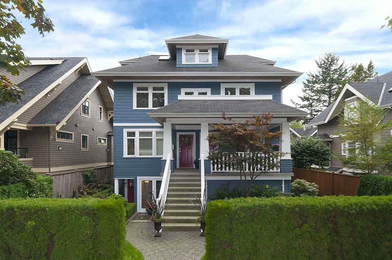 Main Photo: 1918 W 11TH AVENUE in Vancouver: Kitsilano Townhouse for sale (Vancouver West)  : MLS®# R2066055