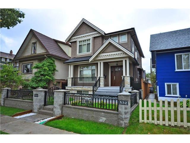 Photo 1: 536 E 47TH AV in Vancouver: Fraser VE House for sale (Vancouver East)  : MLS(r) # V1024771