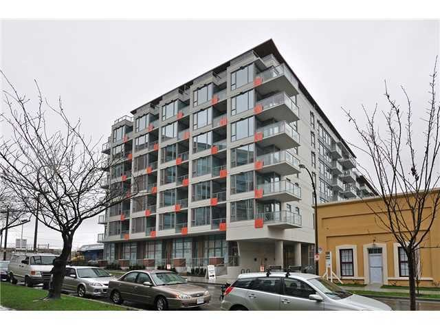 Main Photo: # 608 251 E 7TH AV in Vancouver: Mount Pleasant VE Condo for sale (Vancouver East)  : MLS® # V1065509