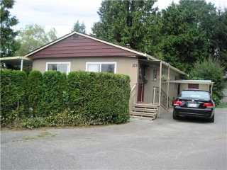 "Main Photo: 23 201 CAYER Street in Coquitlam: Maillardville Manufactured Home for sale in ""WILDWOOD PARK"" : MLS® # V999354"