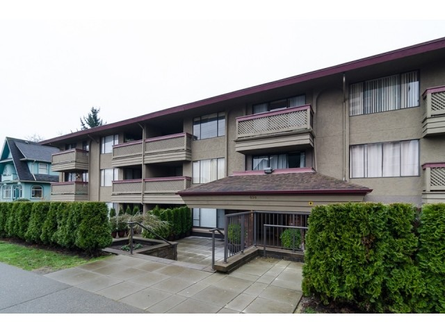 Main Photo: # 206 436 SEVENTH ST in New Westminster: Uptown NW Condo for sale : MLS® # V1102841