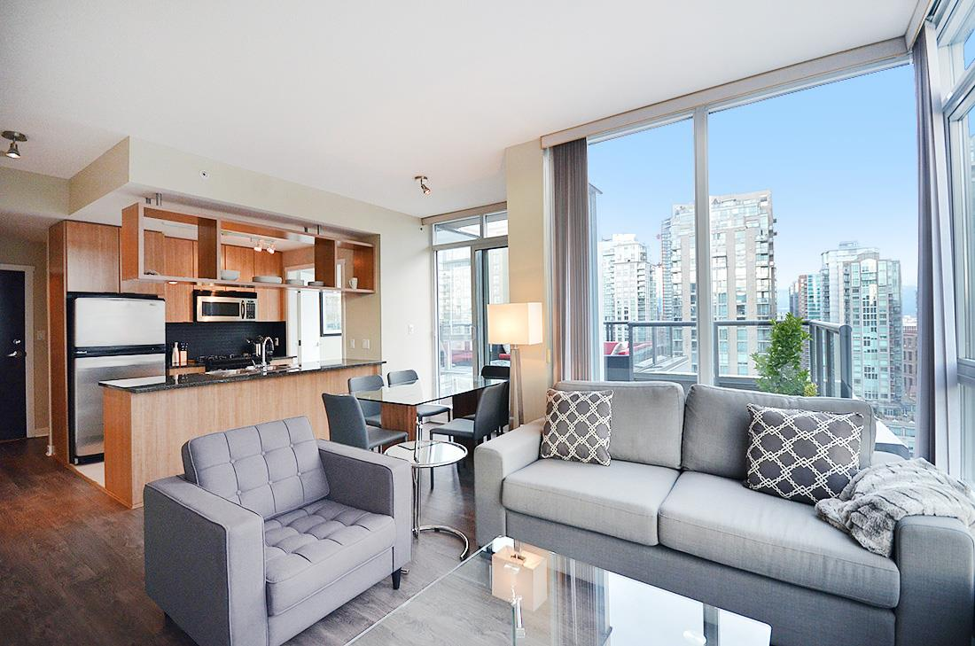 Photo 2: 2302 1010 RICHARDS STREET in Vancouver: Yaletown Condo for sale (Vancouver West)  : MLS® # R2090358