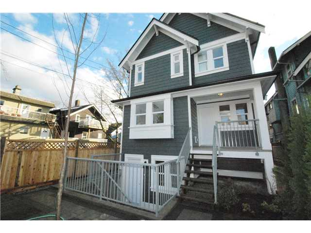 Main Photo: 755 E 11TH AV in Vancouver: Mount Pleasant VE House 1/2 Duplex for sale (Vancouver East)  : MLS(r) # V1027526