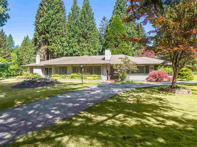 Main Photo: 424 Hadden Drive in West Vancouver: British Properties House for sale : MLS®# R2068009