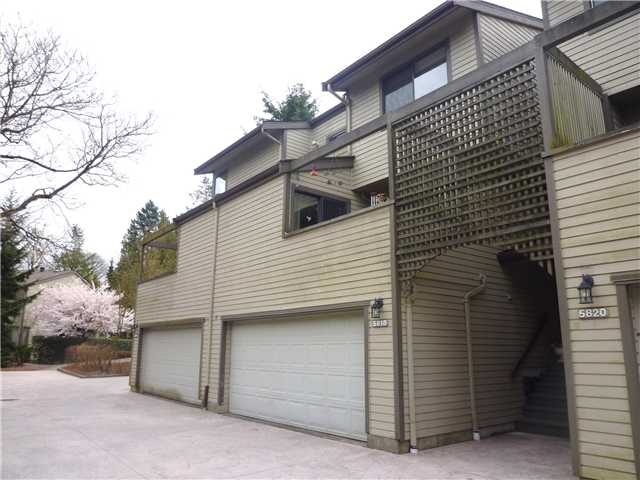 Main Photo: 5818 MAYVIEW CL in : Burnaby Lake Townhouse for sale : MLS®# V884292