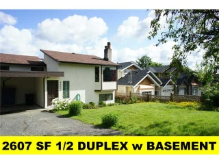 Main Photo: 4607 Grassmere Street in Burnaby: Forest Glen BS House 1/2 Duplex for sale (Burnaby South)  : MLS® # V893118