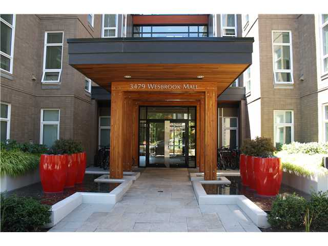 Main Photo: 208 3479 WESBROOK Mall in Vancouver: University VW Condo for sale (Vancouver West)  : MLS® # V1075800