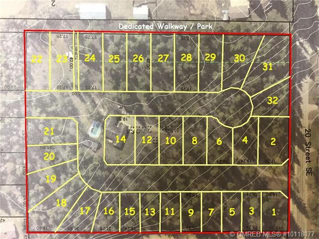 Main Photo: 1-32 1400 Southeast 20 Street in Salmon Arm: HiIlcrest Vacant Land for sale (SE Salmon Arm)  : MLS(r) # 10118077