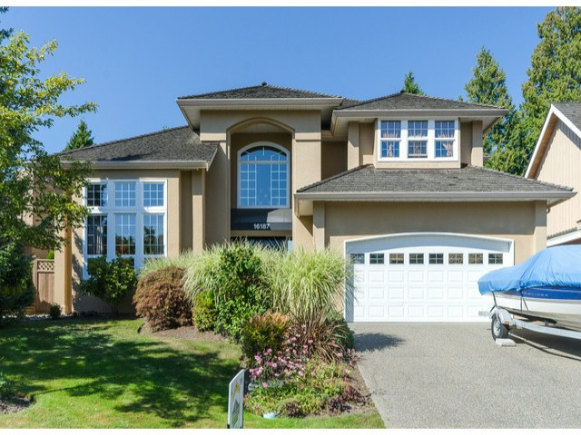 "Main Photo: 16187 10A Avenue in Surrey: King George Corridor House for sale in ""McNally Creek"" (South Surrey White Rock)  : MLS® # F1421208"