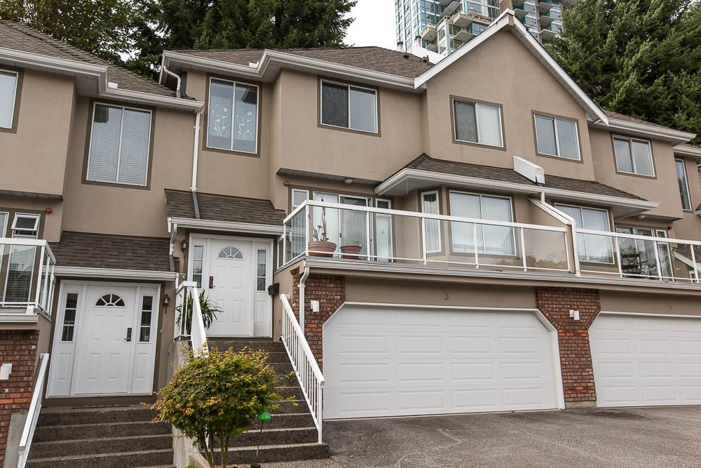 Main Photo: 3 72 JAMIESON COURT in New Westminster: Fraserview NW Townhouse for sale : MLS® # R2000249