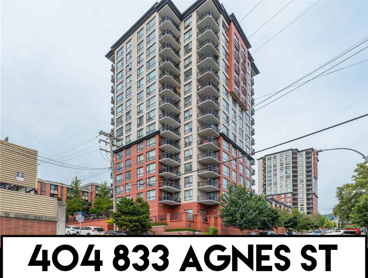 FEATURED LISTING: 404 - 833 AGNES Street New Westminster