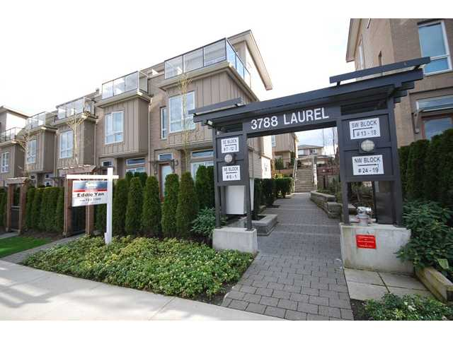 Main Photo: 1 3788 LAUREL Street in Burnaby: Burnaby Hospital Townhouse for sale (Burnaby South)  : MLS(r) # V960525