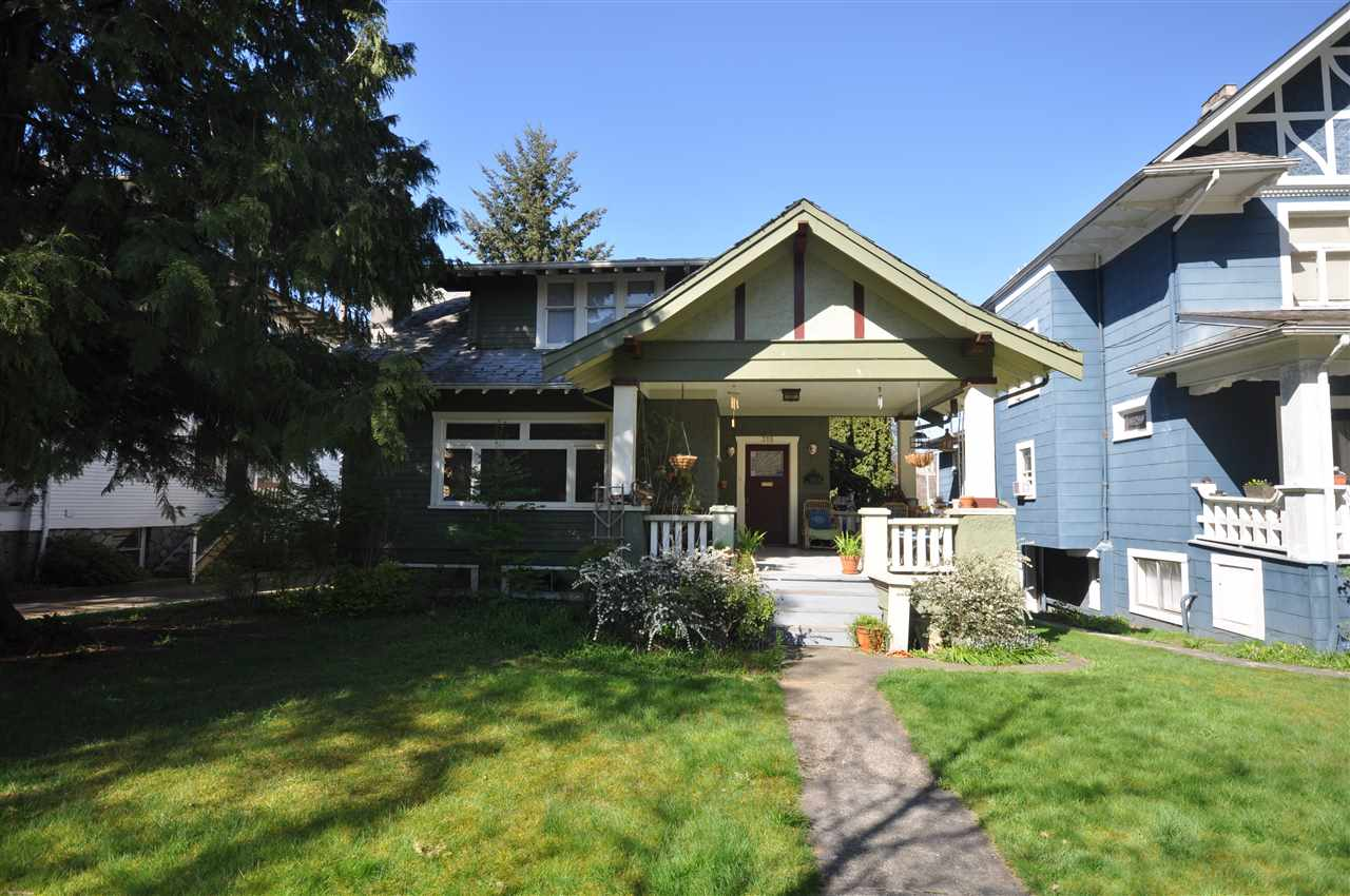 Main Photo: 315 W 11TH AVENUE in Vancouver: Mount Pleasant VW House for sale (Vancouver West)  : MLS® # R2135874