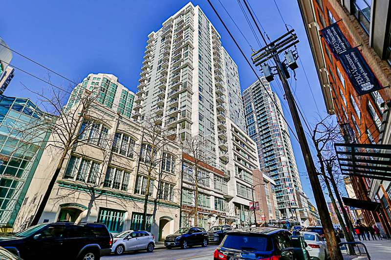 Main Photo: 1507 821 CAMBIE STREET in Vancouver: Downtown VW Condo for sale (Vancouver West)  : MLS® # R2136221