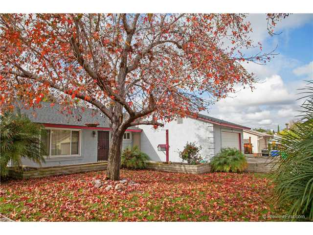 Main Photo: CHULA VISTA House for sale : 3 bedrooms : 1244 RAVEN Avenue
