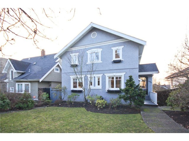 Main Photo: 4963 MARGUERITE ST in Vancouver: Quilchena House for sale (Vancouver West)  : MLS® # V1040251