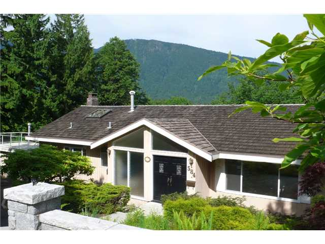 Main Photo: 584 BARNHAM Place in West Vancouver: British Properties House for sale : MLS® # V957447