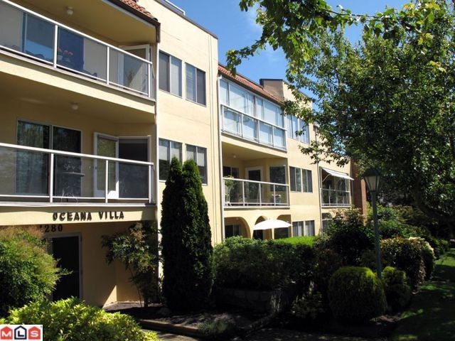 "Main Photo: 105 1280 FIR Street: White Rock Condo for sale in ""OCEANA VILLA"" (South Surrey White Rock)  : MLS®# F1217608"