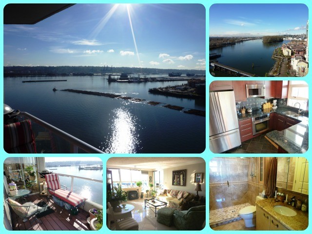 "Main Photo: 1504 1250 QUAYSIDE Drive in New Westminster: Quay Condo for sale in ""THE PROMENADE"" : MLS®# V991663"