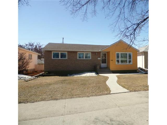 Main Photo: 1132 INKSTER Boulevard in WINNIPEG: North End Residential for sale (North West Winnipeg)  : MLS®# 1307389