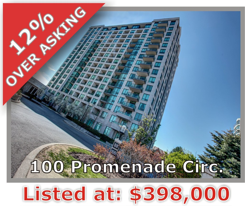 Main Photo: 100 Promenade Cir in : Brownridge Condo for sale (Vaughan)