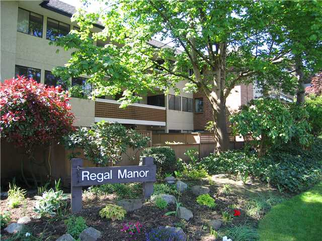 "Main Photo: 314 316 CEDAR Street in New Westminster: Sapperton Condo for sale in ""REGAL MANOR/SAPPERTON"" : MLS® # V954715"