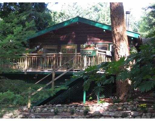 "Main Photo: 1210 MILLER RD: Bowen Island House for sale in ""MILLERS LANDING"" : MLS® # V558847"