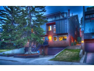 Main Photo: 1 1205 CAMERON Avenue SW in CALGARY: Lower Mount Royal Townhouse for sale (Calgary)  : MLS(r) # C3569597