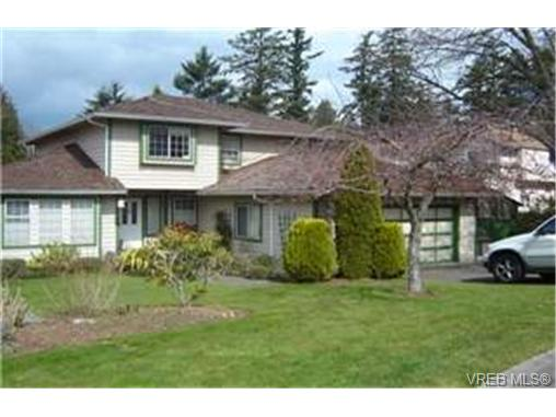 Main Photo: 4937 Haliburton Place in VICTORIA: SE Cordova Bay Single Family Detached for sale (Saanich East)  : MLS® # 244033