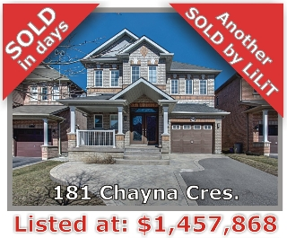 Main Photo: 181 Chayna Crescent in Vaughan: Patterson Freehold for sale
