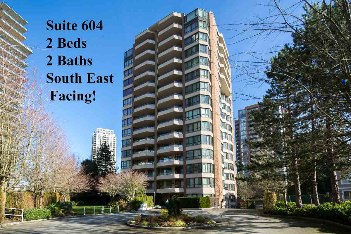 Main Photo: 604 6152 KATHLEEN AVENUE in Burnaby: Metrotown Condo for sale (Burnaby South)  : MLS® # R2043743