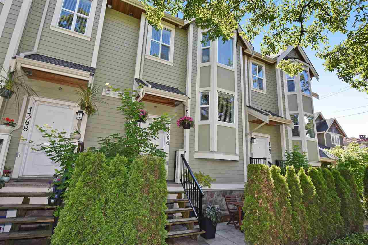 Main Photo: 1386 E 27TH AVENUE in Vancouver: Knight Townhouse for sale (Vancouver East)  : MLS® # R2074490