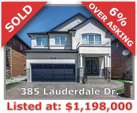 Main Photo: 385 Lauderdale Dr in Vaughan: Patterson Freehold for sale