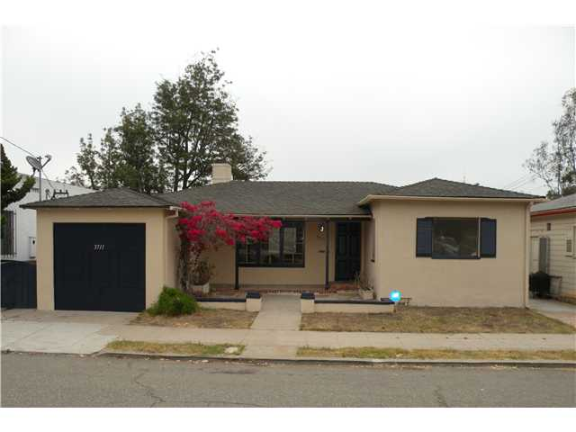 Main Photo: MISSION HILLS House for sale : 3 bedrooms : 3711 Eagle Street in San Diego