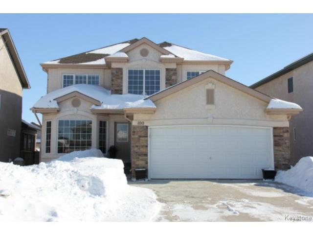 Main Photo: 100 Harding Crescent in WINNIPEG: St Vital Residential for sale (South East Winnipeg)  : MLS(r) # 1403083
